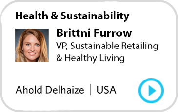 Brittni Furrow, VP, Sustainable Retailing & Healthy Living