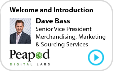 Dave Bass, Senior Vice President Merchandising, Marketing & Sourcing Services